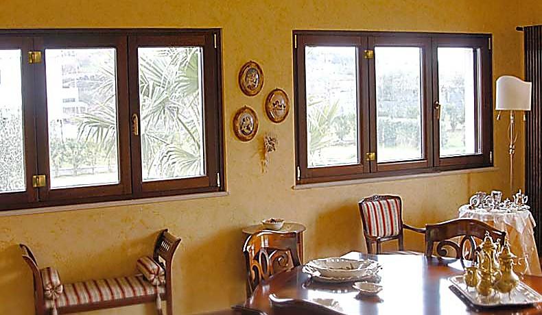 Linea Beautiful Legno Alluminio Serramenti Home