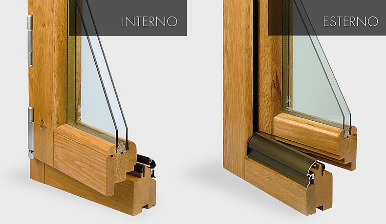 Linea trendy legno serramenti home alberto colangelo - Maniglie per finestre in legno ...