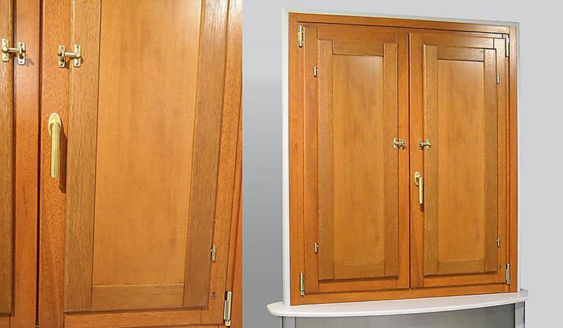 Scuretti interni in legno elementi oscuranti serramenti home alberto colangelo - Scuri per finestre ...